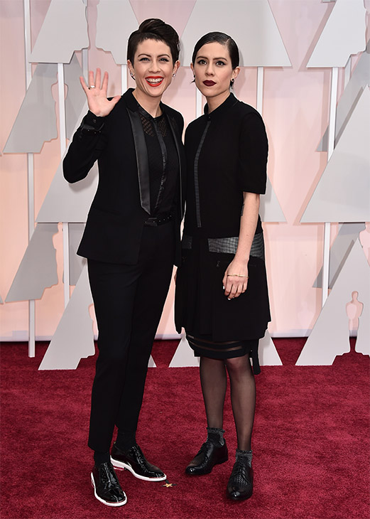 "<div class=""meta image-caption""><div class=""origin-logo origin-image none""><span>none</span></div><span class=""caption-text"">Tegan Quin, left, and Sara Quin of the musical group Tegan and Sara arrive. (AP Photo)</span></div>"