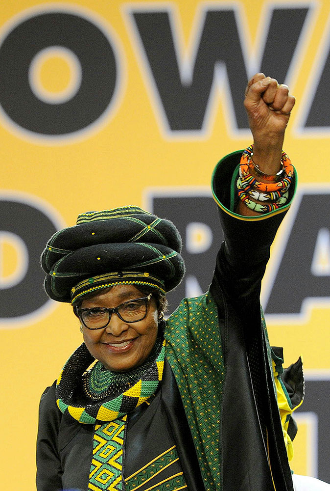 <div class='meta'><div class='origin-logo' data-origin='none'></div><span class='caption-text' data-credit='Gallo Images / Sowetan / Veli Nhlapo ia Getty Images'>Winnie Mandela, an anti-apartheid activist who was married to the late South African President Nelson Mandela, has died.</span></div>