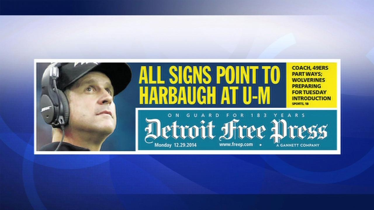 Newspaper Publishes Image Of Wrong Harbaugh Brother For Michigan