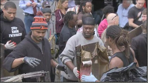Pictured: Images captured by a 6abc Action News crew in Baltimore on April 28th showing the aftermath of riots following the funeral of Freddie Gray. <span class=meta></span>