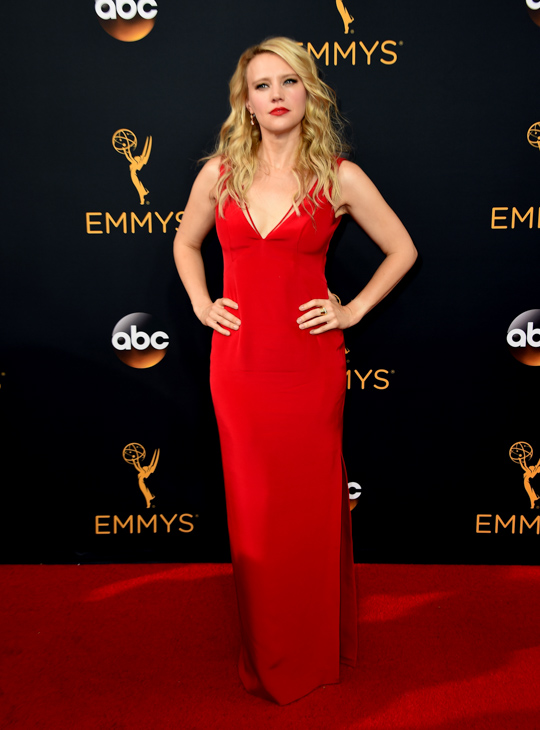 <div class='meta'><div class='origin-logo' data-origin='AP'></div><span class='caption-text' data-credit='Jordan Strauss/Invision/AP'>Kate McKinnon arrives at the 68th Primetime Emmy Awards on Sunday, Sept. 18, 2016, at the Microsoft Theater in Los Angeles.</span></div>