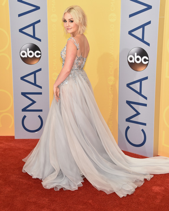 "<div class=""meta image-caption""><div class=""origin-logo origin-image none""><span>none</span></div><span class=""caption-text"">RaeLynn arrives at the 50th annual CMA Awards at the Bridgestone Arena on Wednesday, Nov. 2, 2016, in Nashville, Tenn. (Evan Agostini/Invision/AP)</span></div>"