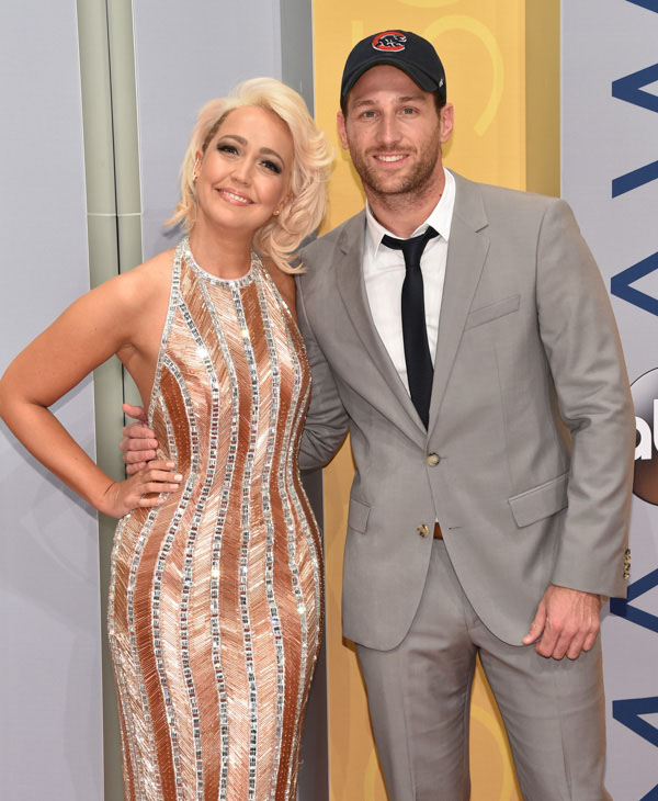 "<div class=""meta image-caption""><div class=""origin-logo origin-image none""><span>none</span></div><span class=""caption-text"">Meghan Linsey, left, and Juan Pablo arrive at the 50th annual CMA Awards at the Bridgestone Arena on Wednesday, Nov. 2, 2016, in Nashville, Tenn. (Evan Agostini/Invision/AP)</span></div>"