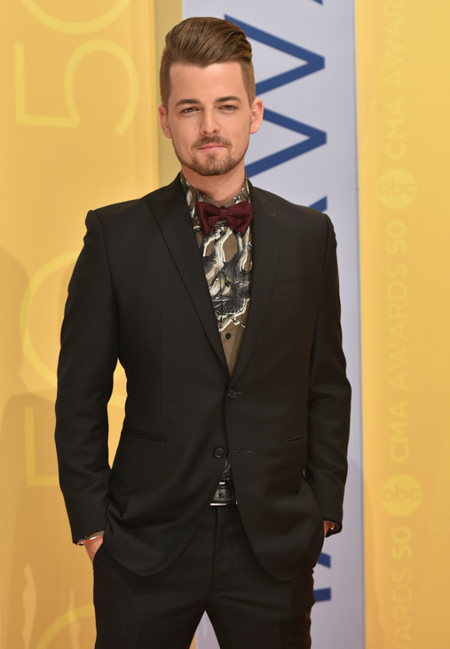 "<div class=""meta image-caption""><div class=""origin-logo origin-image none""><span>none</span></div><span class=""caption-text"">Chase Bryant arrives at the 50th annual CMA Awards at the Bridgestone Arena on Wednesday, Nov. 2, 2016, in Nashville, Tenn. (Evan Agostini/Invision/AP)</span></div>"