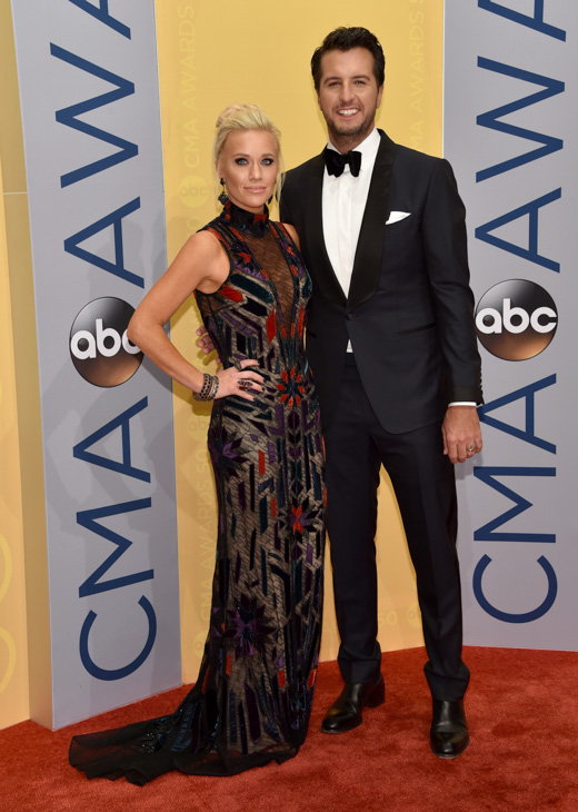 "<div class=""meta image-caption""><div class=""origin-logo origin-image none""><span>none</span></div><span class=""caption-text"">Caroline Boyer, left, and Luke Bryan arrive at the 50th annual CMA Awards at the Bridgestone Arena on Wednesday, Nov. 2, 2016, in Nashville, Tenn. (Evan Agostini/Invision/AP)</span></div>"