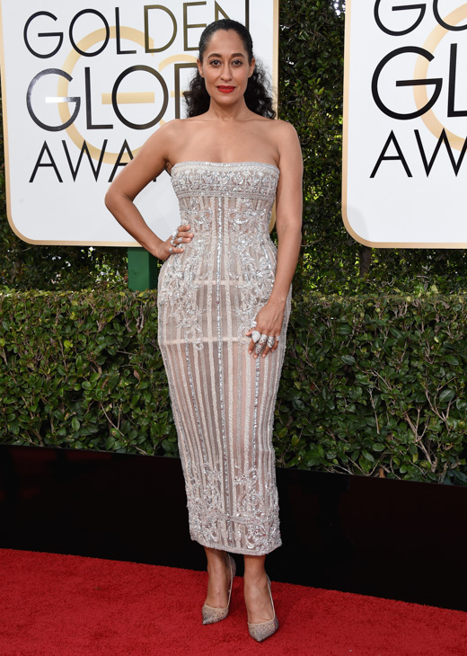 <div class='meta'><div class='origin-logo' data-origin='none'></div><span class='caption-text' data-credit='Jordan Strauss/Invision/AP'>Tracee Ellis Ross arrives at the 74th annual Golden Globe Awards at the Beverly Hilton Hotel on Sunday, Jan. 8, 2017, in Beverly Hills, Calif.</span></div>