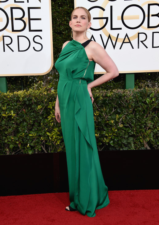 <div class='meta'><div class='origin-logo' data-origin='none'></div><span class='caption-text' data-credit='Jordan Strauss/Invision/AP'>Anna Chlumsky arrives at the 74th annual Golden Globe Awards at the Beverly Hilton Hotel on Sunday, Jan. 8, 2017, in Beverly Hills, Calif.</span></div>