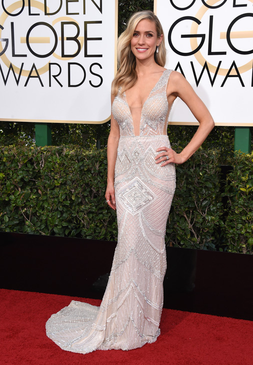 <div class='meta'><div class='origin-logo' data-origin='none'></div><span class='caption-text' data-credit='Jordan Strauss/Invision/AP'>Kristin Cavallari arrives at the 74th annual Golden Globe Awards at the Beverly Hilton Hotel on Sunday, Jan. 8, 2017, in Beverly Hills, Calif.</span></div>