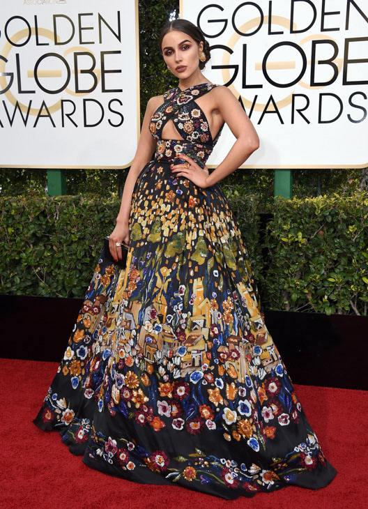 "<div class=""meta image-caption""><div class=""origin-logo origin-image none""><span>none</span></div><span class=""caption-text"">Olivia Culpo arrives at the 74th annual Golden Globe Awards at the Beverly Hilton Hotel on Sunday, Jan. 8, 2017, in Beverly Hills, Calif. (Jordan Strauss/Invision/AP)</span></div>"