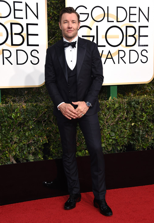 <div class='meta'><div class='origin-logo' data-origin='none'></div><span class='caption-text' data-credit='Jordan Strauss/Invision/AP'>Joel Edgerton arrives at the 74th annual Golden Globe Awards at the Beverly Hilton Hotel on Sunday, Jan. 8, 2017, in Beverly Hills, Calif.</span></div>