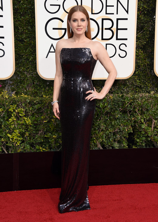<div class='meta'><div class='origin-logo' data-origin='none'></div><span class='caption-text' data-credit='Jordan Strauss/Invision/AP'>Amy Adams arrives at the 74th annual Golden Globe Awards at the Beverly Hilton Hotel on Sunday, Jan. 8, 2017, in Beverly Hills, Calif.</span></div>
