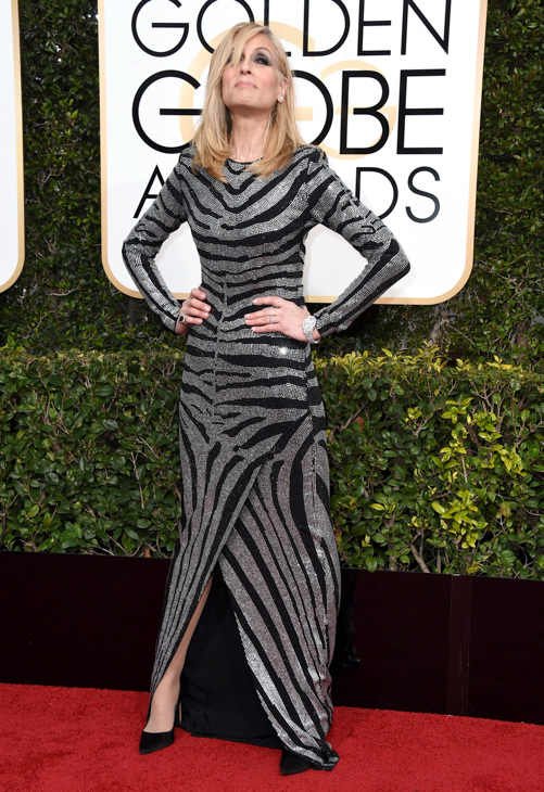 <div class='meta'><div class='origin-logo' data-origin='none'></div><span class='caption-text' data-credit='Jordan Strauss/Invision/AP'>Judith Light arrives at the 74th annual Golden Globe Awards at the Beverly Hilton Hotel on Sunday, Jan. 8, 2017, in Beverly Hills, Calif.</span></div>