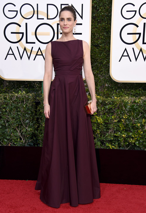 <div class='meta'><div class='origin-logo' data-origin='none'></div><span class='caption-text' data-credit='Jordan Strauss/Invision/AP'>Amanda Peet arrives at the 74th annual Golden Globe Awards at the Beverly Hilton Hotel on Sunday, Jan. 8, 2017, in Beverly Hills, Calif.</span></div>