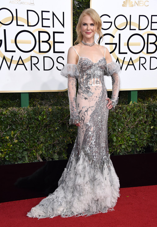 <div class='meta'><div class='origin-logo' data-origin='none'></div><span class='caption-text' data-credit='Jordan Strauss/Invision/AP'>Nicole Kidman arrives at the 74th annual Golden Globe Awards at the Beverly Hilton Hotel on Sunday, Jan. 8, 2017, in Beverly Hills, Calif</span></div>
