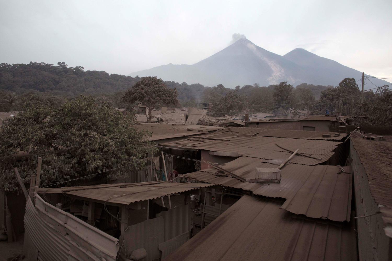 <div class='meta'><div class='origin-logo' data-origin='none'></div><span class='caption-text' data-credit='Luis Soto/AP Photo'>Volcan de Fuego, or &#34;Volcano of Fire,&#34; blows outs a thick cloud of ash, as seen from Escuintla, Guatemala, Monday, June 4, 2018.</span></div>