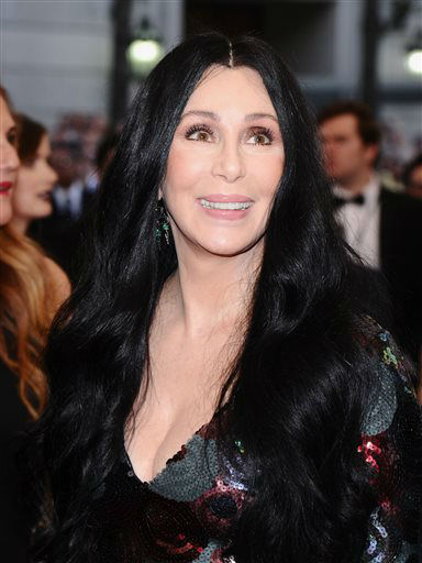 """<div class=""""meta image-caption""""><div class=""""origin-logo origin-image none""""><span>none</span></div><span class=""""caption-text"""">Cher arrives at The Metropolitan Museum of Art's Costume Institute benefit gala. (Photo by Charles Sykes/Invision/AP) (AP Photo/ Charles Sykes)</span></div>"""