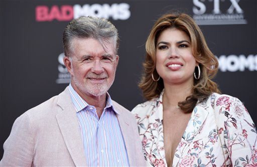 "<div class=""meta image-caption""><div class=""origin-logo origin-image ap""><span>AP</span></div><span class=""caption-text"">Alan Thicke and his wife Tanya pose together at the premiere of the film ""Bad Moms"" at the Mann Village Theatre on Tuesday, July 26, 2016, in Los Angeles. (Chris Pizzello/Invision/AP)</span></div>"