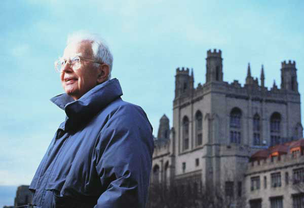 University of Chicago Law professor Ronald Coase, a Nobel Prize winner and pioneer in applying economic theory to the law, died Monday, Sept. 2, 2013. He was 102.  <span class=meta>(AP Photo&#47; Uncredited)</span>