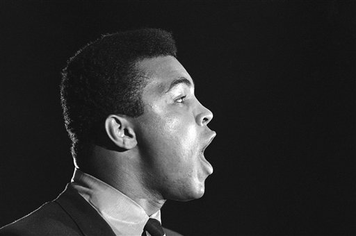 "<div class=""meta image-caption""><div class=""origin-logo origin-image none""><span>none</span></div><span class=""caption-text"">Muhammad Ali is seen at anti-war rally at the University of Chicago on May 11, 1967. (AP)</span></div>"