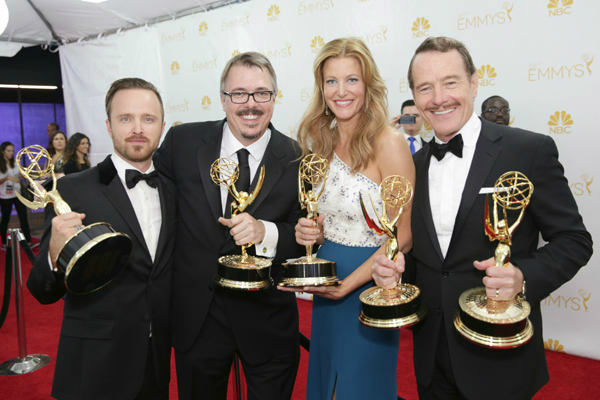 &#39;&#39;Breaking Bad&#39;&#39; went out with a bang, winning the award for Outstanding Drama Series--as well as five others. <span class=meta>(Photo&#47;Casey Curry)</span>