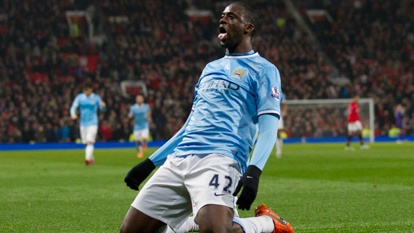#6: Yaya Toure&#39;s total earnings equal &#36;21.7 million. <span class=meta>(Photo&#47;Jon Super)</span>