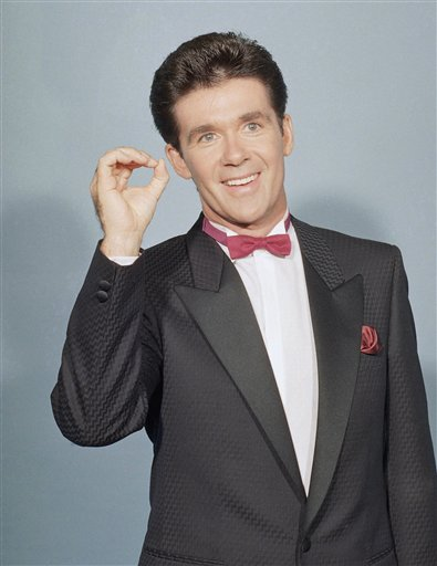 "<div class=""meta image-caption""><div class=""origin-logo origin-image ap""><span>AP</span></div><span class=""caption-text"">Alan Thicke is photographed at the Emmy Awards in Los Angeles on Sept. 20, 1987. (AP Photo/Pizac)</span></div>"