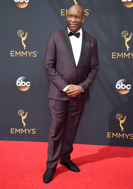 <div class='meta'><div class='origin-logo' data-origin='AP'></div><span class='caption-text' data-credit='Phil McCarten/Invision/AP'>John Singleton arrives at the 68th Primetime Emmy Awards on Sunday, Sept. 18, 2016, at the Microsoft Theater in Los Angeles.</span></div>