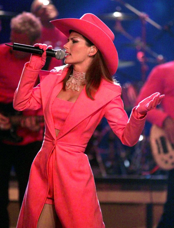 "<div class=""meta image-caption""><div class=""origin-logo origin-image none""><span>none</span></div><span class=""caption-text"">Shania Twain performs at the Country Music Association Awards show in Nashville, Tenn. on Wednesday, Sept. 22, 1999. (Michael S. Green/AP)</span></div>"