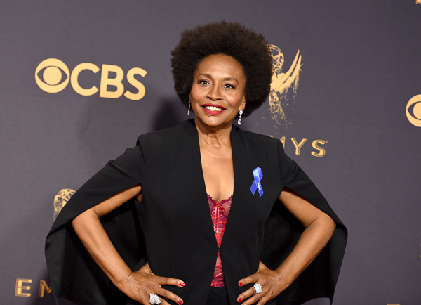 <div class='meta'><div class='origin-logo' data-origin='none'></div><span class='caption-text' data-credit='Richard Shotwell/Invision/AP'>Jenifer Lewis arrives at the 69th Primetime Emmy Awards.</span></div>