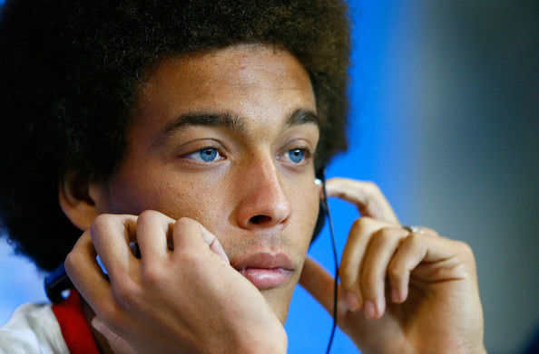 "<div class=""meta ""><span class=""caption-text "">BELGIUM: Axel Witsel's baby blues can't be seen from the stands too often, which is all the more reason to enjoy close-ups.</span></div>"