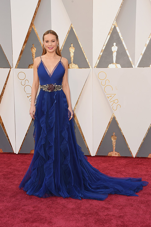 <div class='meta'><div class='origin-logo' data-origin='none'></div><span class='caption-text' data-credit='Jason Merritt/Getty Images'>Actress Brie Larson attends the 88th Annual Academy Awards at Hollywood & Highland Center on February 28, 2016 in Hollywood, California.</span></div>