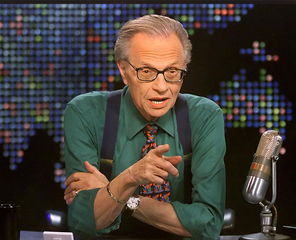 Larry King got his film debut in &#34;Ghostbusters.&#34;  <span class=meta>(CNN, Rose M. Prouser &#47; AP)</span>