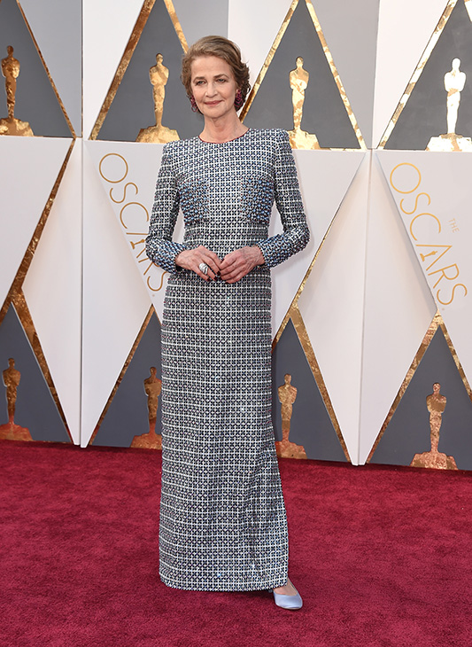 <div class='meta'><div class='origin-logo' data-origin='AP'></div><span class='caption-text' data-credit='Jordan Strauss/Invision/AP'>Charlotte Rampling arrives at the Oscars on Sunday, Feb. 28, 2016, at the Dolby Theatre in Los Angeles.</span></div>