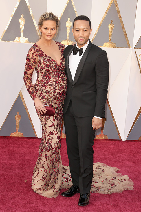<div class='meta'><div class='origin-logo' data-origin='none'></div><span class='caption-text' data-credit='Todd Williamson/Getty Images'>Model Chrissy Teigen and musician John Legend attend the 88th Annual Academy Awards at Hollywood & Highland Center on February 28, 2016 in Hollywood, California.</span></div>