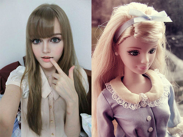 Real Life Barbie Before And After Body 13 Men and women that ...