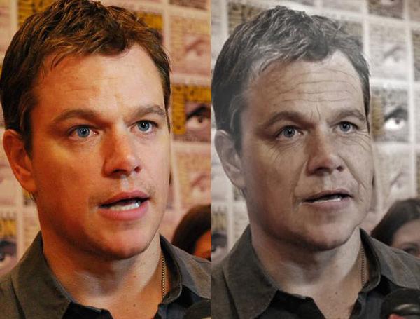 Matt Damon <span class=meta>(AgingBooth)</span>