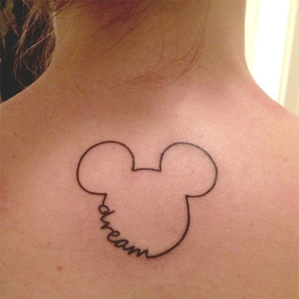 A creative Mickey. <span class=meta>(DisneyInk &#47; Tumblr)</span>