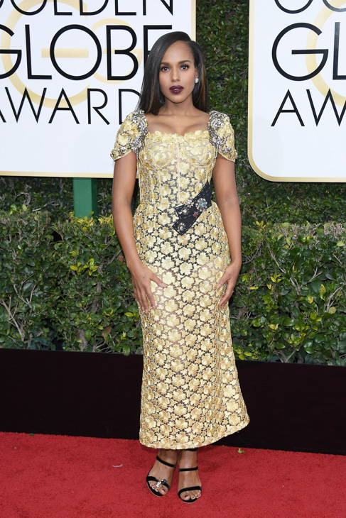 <div class='meta'><div class='origin-logo' data-origin='none'></div><span class='caption-text' data-credit='Venturelli/Getty Images'>Kerry Washington attends the 74th Annual Golden Globe Awards at The Beverly Hilton Hotel on January 8, 2017 in Beverly Hills, California.</span></div>
