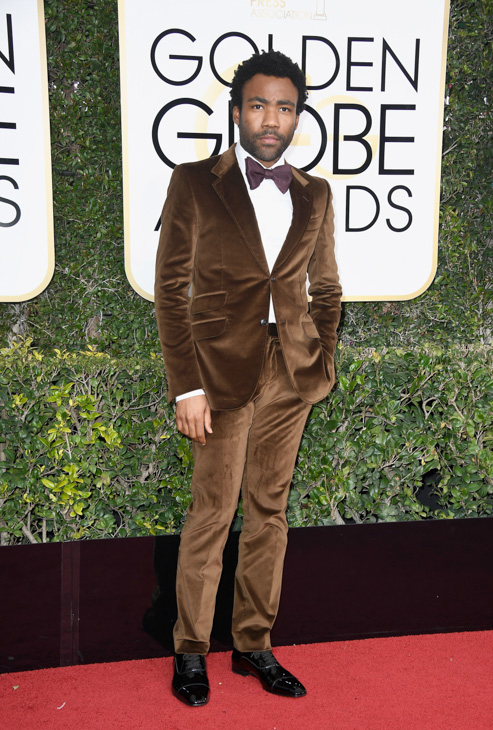 <div class='meta'><div class='origin-logo' data-origin='none'></div><span class='caption-text' data-credit='Frazer Harrison/Getty Images'>Actor Donald Glover attends the 74th Annual Golden Globe Awards at The Beverly Hilton Hotel on January 8, 2017 in Beverly Hills, California.</span></div>