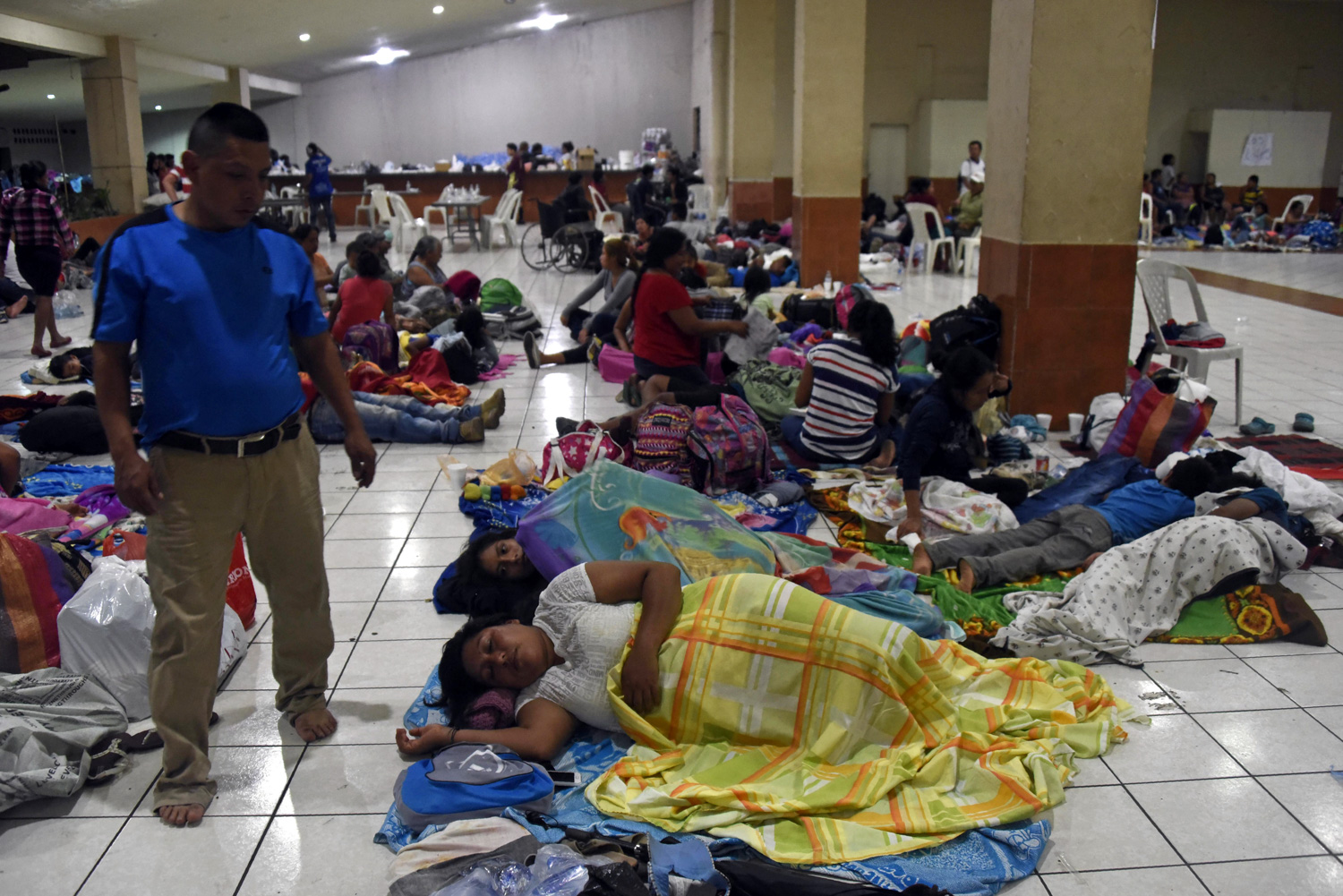 <div class='meta'><div class='origin-logo' data-origin='none'></div><span class='caption-text' data-credit='JOHAN ORDONEZ/AFP/Getty Images'>Residents of several communities safeguard in a temporary shelter in Escuintla department, 35 km south of Guatemala City on June 3, 2018, for fear of new outbursts of Fuego volcano</span></div>