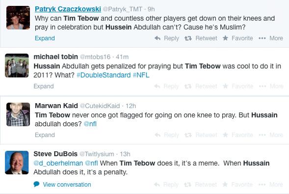 "<div class=""meta image-caption""><div class=""origin-logo origin-image ""><span></span></div><span class=""caption-text"">Twitter users criticized the NFL following Abdullah's penalty. (Patryk_TMT / mtobs16 / CutekidKaid / Twitlysium / Twitter)</span></div>"
