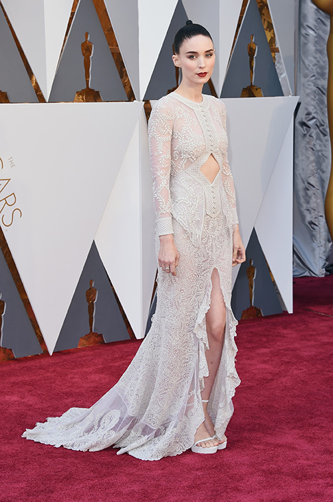 <div class='meta'><div class='origin-logo' data-origin='none'></div><span class='caption-text' data-credit='Jason Merritt/Getty Images'>Actress Rooney Mara attends the 88th Annual Academy Awards at Hollywood & Highland Center on February 28, 2016 in Hollywood, California..</span></div>