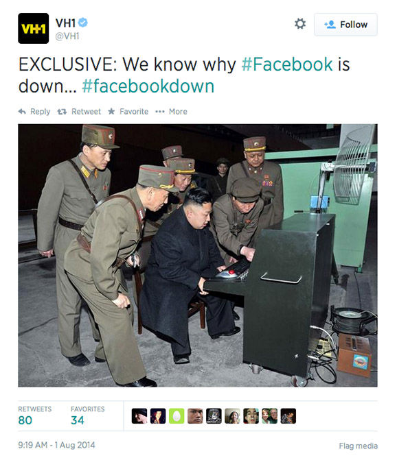 "<div class=""meta ""><span class=""caption-text "">When Facebook goes down, Twitter reacts (VH1 / Twitter)</span></div>"