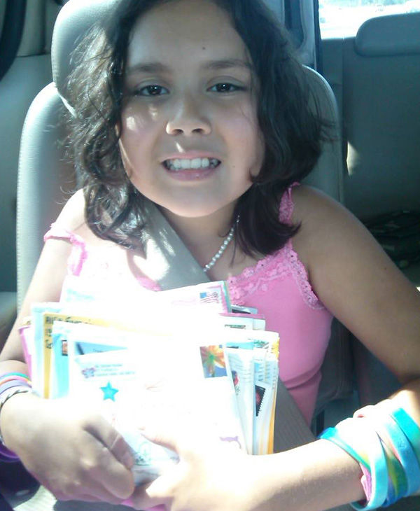 Ali with some early birthday cards. <span class=meta>(Princess Ali&#39;s Journey with NBIA &#47; Facebook)</span>