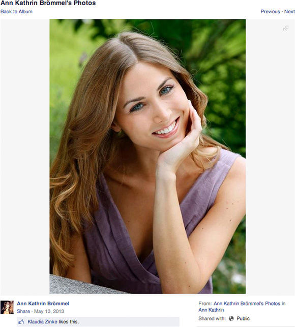 """<div class=""""meta image-caption""""><div class=""""origin-logo origin-image """"><span></span></div><span class=""""caption-text"""">Ann Kathrin Brommel (annkathrin.broemmel.39 / Facebook)</span></div>"""