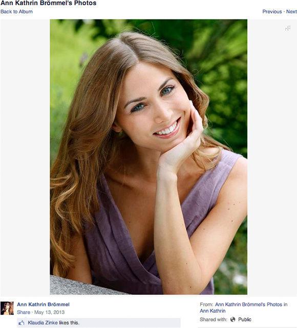 "<div class=""meta ""><span class=""caption-text "">Ann Kathrin Brommel (annkathrin.broemmel.39 / Facebook)</span></div>"
