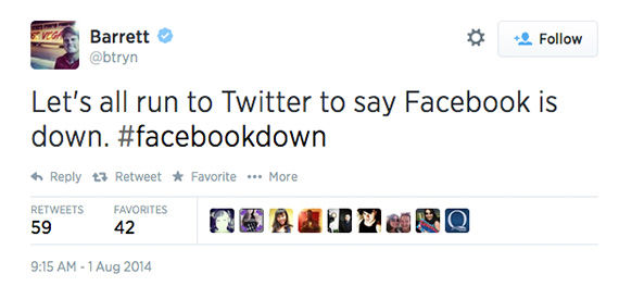 "<div class=""meta ""><span class=""caption-text "">When Facebook goes down, Twitter reacts (btryn / Twitter)</span></div>"