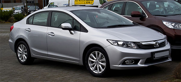 2. Honda Civic, 45,001 stolen. <span class=meta>(M 93 &#47; Flickr)</span>