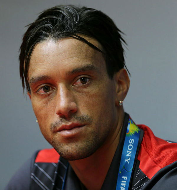 "<div class=""meta ""><span class=""caption-text "">COSTA RICA: Christian Bolanos looks as good during press conferences as he does on the field.</span></div>"