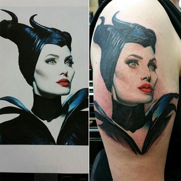 Maleficent. <span class=meta>(disneyink &#47; Instagram)</span>